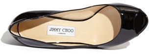 Jimmy Choo 'Baxen' Peep Toe Wedge