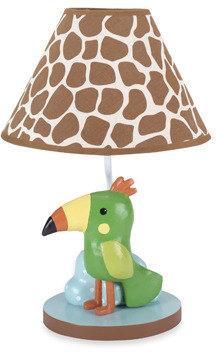 Lambs & Ivy Peek-a-Boo Jungle Lamp
