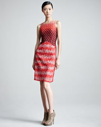 Missoni Sleeveless Round-Neck Dress