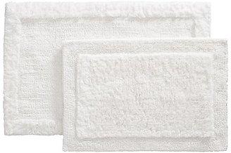 "Crate & Barrel Ultra Spa White 24""x36"" Bath Rug"