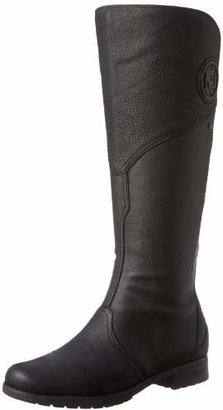 Rockport Women's Tristina Gore Tall Waterproof Boot - Wide Calf Black - Extended Shaft Boot
