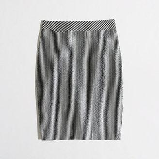 J.Crew Factory Factory pencil skirt in seersucker