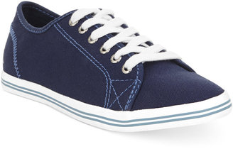 Nautica Women's Lanyard Lace Up Sneakers $45 thestylecure.com