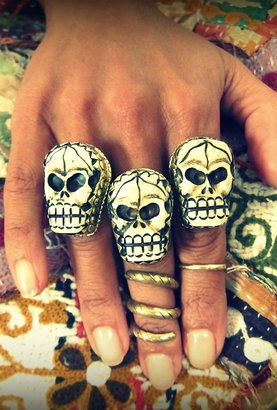 Natalie B Jewelry Skull Ring