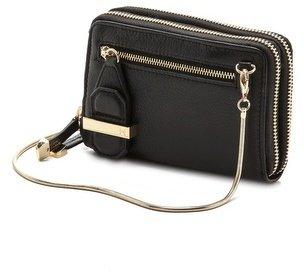 Halston Mini Double Zippy Wallet