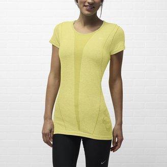 Nike Dri-FIT Knit Short-Sleeve Women's Running Shirt