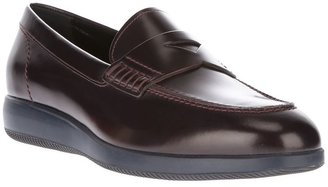 Hogan platform loafer