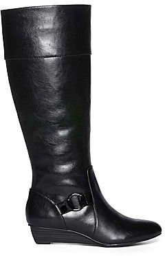 JCPenney Nine & Co 9 & Co. Kape Womens Tall Boots