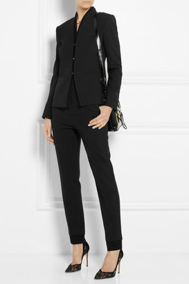 J Brand Marianne stretch-crepe tapered pants