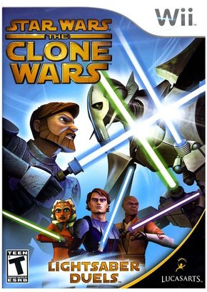 Nintendo wii TM star wars ® the clone wars TM lightsaber duels TM