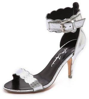 Isa Tapia Lia Scalloped Sandals