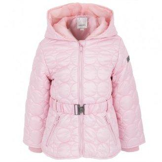 Diesel Belted Pink Quilt Jacket