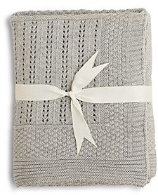 Elegant Baby Unisex Seed Knit Blanket