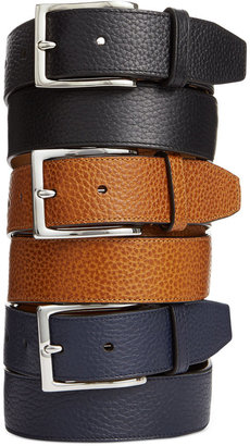 Cole Haan Pebbled Leather Belt $70 thestylecure.com