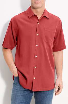 Tommy Bahama 'Catalina Twill' Silk Campshirt