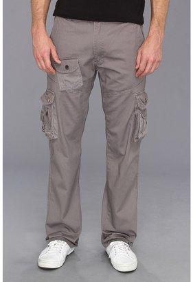 Ecko Unlimited Unltd - Twill Cargo Pant (Metal Grey) - Apparel