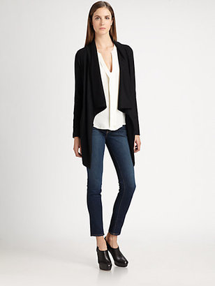 Theory Clarania Draped Jacket