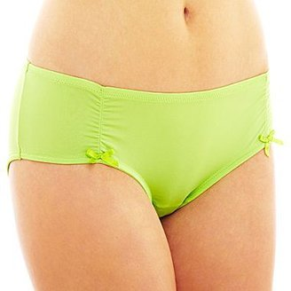 JCPenney Flirtitude® Ruched Microfiber Hipster Panties
