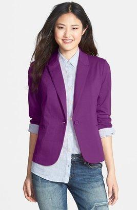 Olivia Moon Ruched Sleeve Jacket