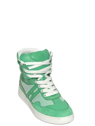 Hogan 50mm H194 Basket High Top Sneakers