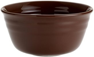 Rachael Ray Double Ridge Cereal Bowl Set, 4-pc, Brown