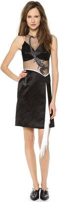 Rodarte Embroidered Scorpion Dress