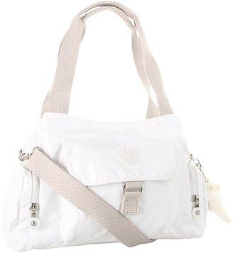 Kipling Fairfax Medium Handbag/Cross-Body (Lacquer White) - Bags and Luggage