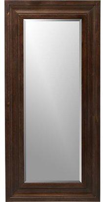 Crate & Barrel Beverly Small Floor Mirror