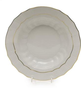 Herend Golden Edge Soup Bowl, Large