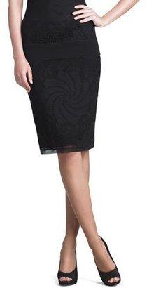 Jean Paul Gaultier Lace Skirt, Black $295 thestylecure.com