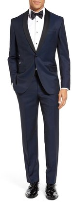 Ted Baker Josh Trim Fit Navy Shawl Lapel Tuxedo