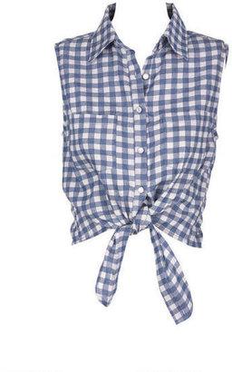 Delia's Chambray Gingham Shirt