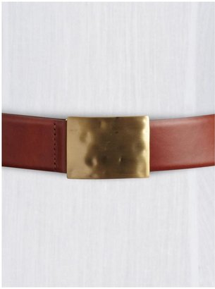 Juicy Couture Tinley Road Hammered Plaque Belt
