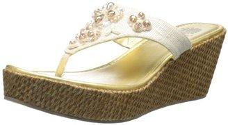 Yellow Box Women's Lady Wedge Sandal
