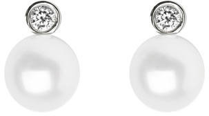 Aspinal of London Bridal March Stud Earrings