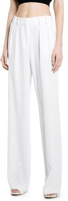 MANGO Outlet Pleated Crepe Trousers
