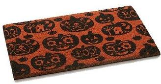 """Crate & Barrel Pumpkin 30""""x18"""" Doormat"""