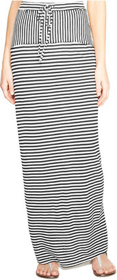 Vince Camuto TWO by Striped-Panel Maxi Skirt