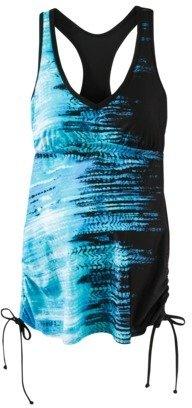 Liz Lange for Target® Maternity Tankini Swim Top - Blue/Black