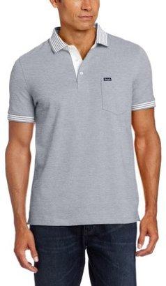 Façonnable Men's Solid Stretch-Cotton Polo Shirt