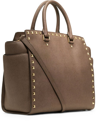 Michael Kors Large Selma Studded Satchel