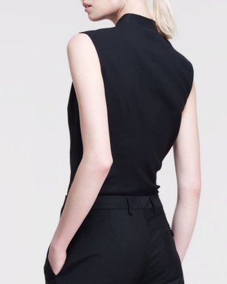 Maison Martin Margiela Sleeveless Double-Breasted Bodysuit