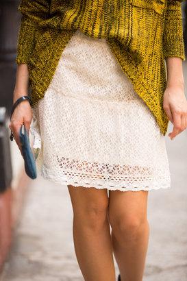 NA Cream Lace Skirt