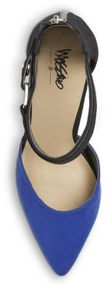 Mossimo Women's Gail Ankle Strap Open Pump