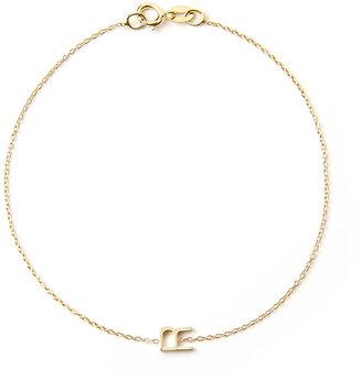 Maya Brenner Designs Mini Letter R Bracelet