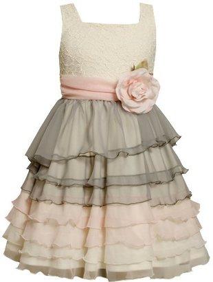 Bonnie Jean Girls 7-16 Colorblock Chiffon Dress