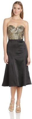 Camilla And Marc Women's Parallelogram Strapless Dress