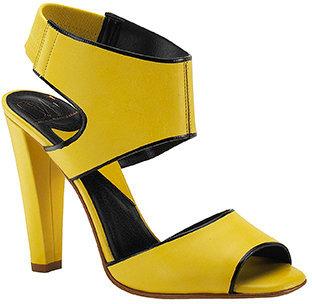 Diane von Furstenberg Artemis - Sun Leather Collar Sandal