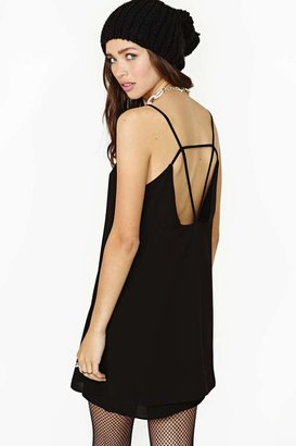 Nasty Gal Vexed Slip Dress