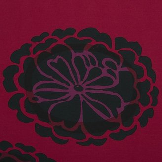 Marimekko Poloneesi Ruby Standard Pillow Sham